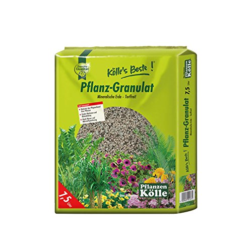 Pflanzgranulat 1-5 mm - 7,5 Liter - Pflanzton, Drainagematerial - mineralisches, torffreies Substrat - Kölle's Beste