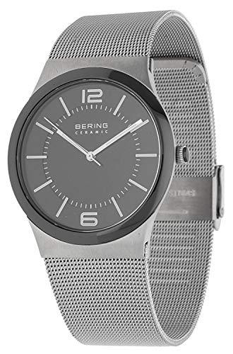 Bering Hombre Reloj de pulsera Ceramic Plata 32239–000–1