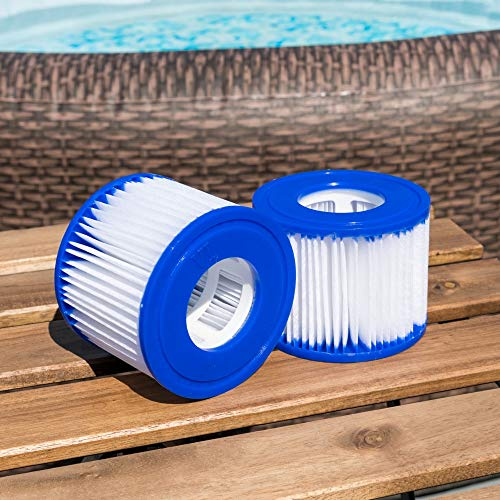 Bestway FLOWCLEAR Taille VI cartouche de filtre pour Lay-Z-Spa Miami, Vegas, Palm Springs, Monaco