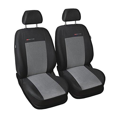 (UNE-2) Universale Set coprisedili auto compatibile con