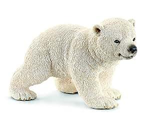 Schleich 14708 - Laufende Eisbärjunges, Minifigur