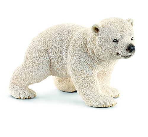Schleich 14708 - Wild Life Polar bear cub, walking