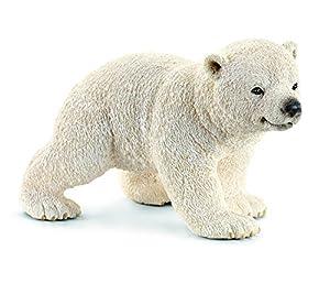 Schleich - Cría de Oso Polar, Corriendo, Figura (14708)