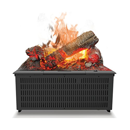 Dimplex Cassette 400 Built-in fireplace Eléctrico Negro Interior - Chimenea (230 V,...