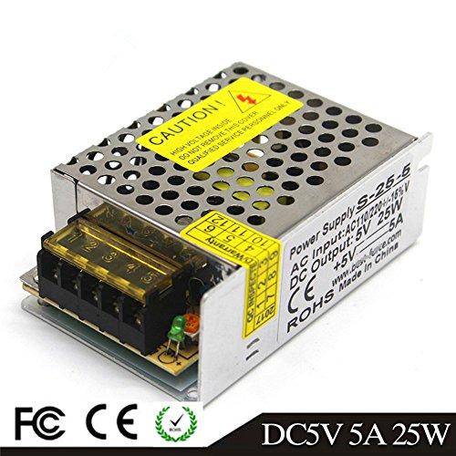 5V 5A 25W LED Fahren Schaltnetzteil Die Industrielle Energieversorgung Monitor - ausrüstungen Motor Transformator CCTV 110/220VAC-DC5V Switching Power Supply
