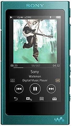 Sony NW-A35 Lecteur audio haute résolution 16 Go Bleu