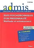 Image de Tests psychotechniques et de personnalité - Méthode et entraînement - Toutes catégories