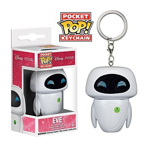 Image of Wall-E Eve Keyring Standard