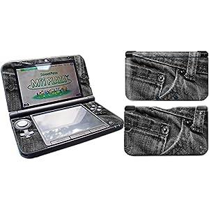 Skins4u Nintendo New 3DS XL Skin Aufkleber Skin Folie Design Sticker Komplett Set Schutzfolie