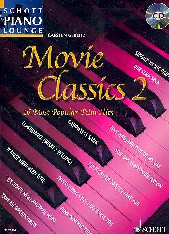 Schott Piano Lounge: Movie Classics Band 2 inkl. CD -- 16 Filmhits arrangiert für Klavier [Musiknoten] Carsten Gerlitz (Pink Panther Band 2)