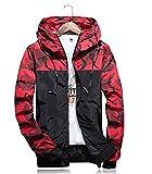 #7: New Euphony brand Men's Hoodies Casual Jacket clothing Windproof Coat outwear