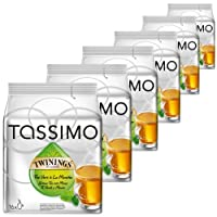 Tassimo Twinings Green Tea & Mint, Pack of 6, 6 x 16 T-Discs