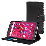 Nexus 6 Hülle (Schwarz), Snugg™ – Flip Case mit