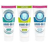 Emmi-dent Ultraschall Zahnpasta Probierpaket mit 3...