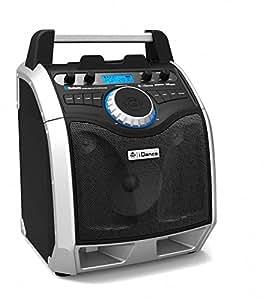 Enceinte nomade Bluetooth avec microphone iDance XD100 - Noir