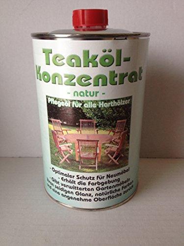 Linder Teaköl Konzentrat 1 Liter Farbe natur