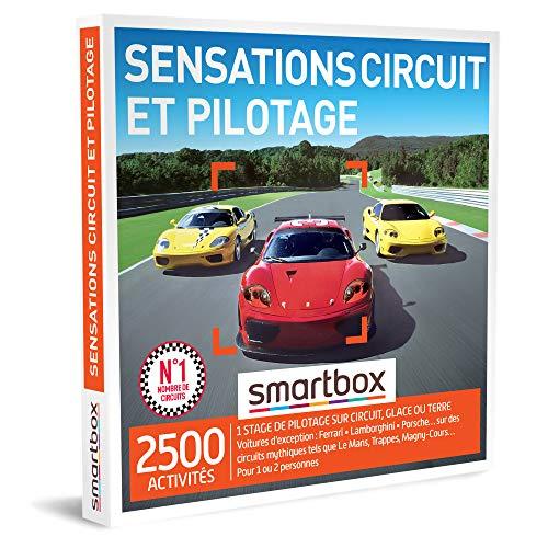 SMARTBOX - Coffret Cadeau homme femme - Sensations circuit et pilotage - idée cadeau...