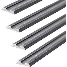 4PCT carburo de tungsteno para cuchillas de cepilladora 82x 5,5x 1,1mm para Ryobi Cepillo L 180183S 2821835