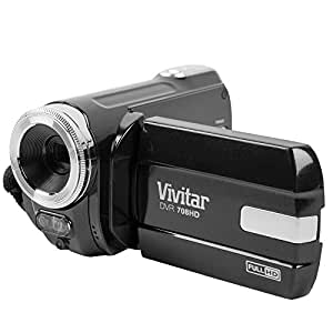 Vivitar DVR708 Full HD Camcorder - Black