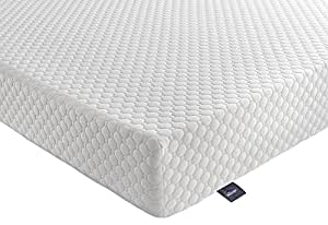 Silentnight 7-Zone Memory Foam Rolled Mattress - Super King - White