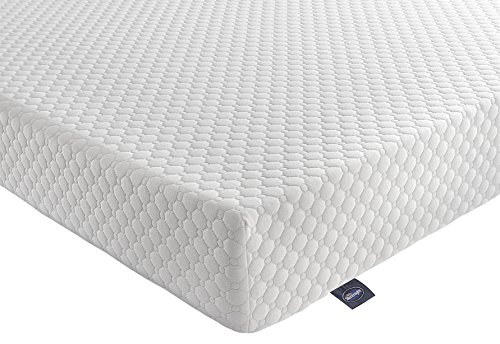Silentnight 7-Zone Memory Foam Rolled Mattress - Double - White