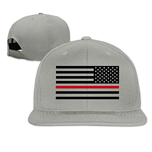 408ea100b7d Muscle Run Cap Thin Red Line Flag Firefighter Fashion Snapback Baseball Cap  Flatted Brim Hat.