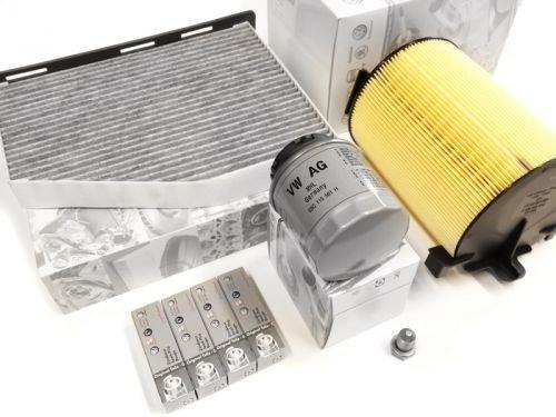Kit diagnosi auto con Candele Originale VW AUDI 1.4 TSI - Codice motore CAVD