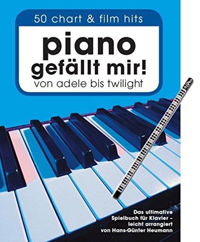 Piano gefällt mir – von Adele bis Twilight [Noten/sheet music] auch für Keyboard, Flöte, Gitarre und Violine geeignet - mit Klavier-Bleistift! Das ultimative Spielbuch.