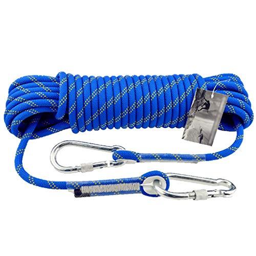 OLLY Marken- Kletterseil Statisches Seil Sicherheitsseil Rettungsleine Rettungsseil Feuer Seil Outdoor Notfall Nylon Seil Reise Durch Gehen Bergsteigen Ausrüstung (größe : 10.5mmX150M)