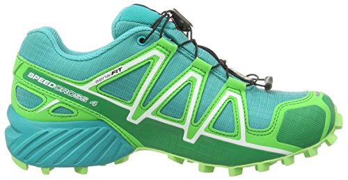 Salomon Speedcross 4 Gtx, Scarpe da Trail Running Donna Blue