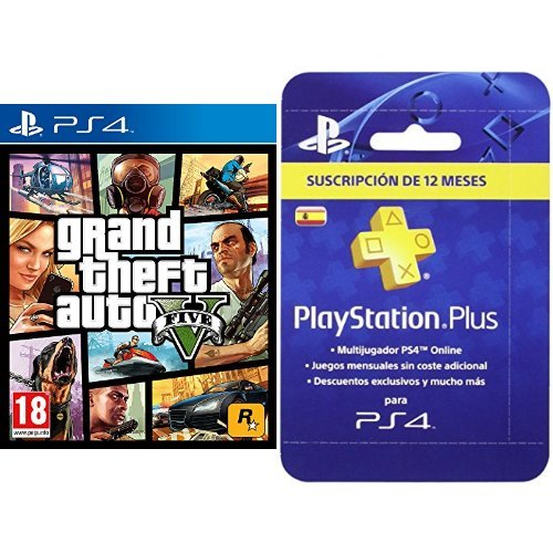 Grand Theft Auto V (GTA V) + PlayStation...