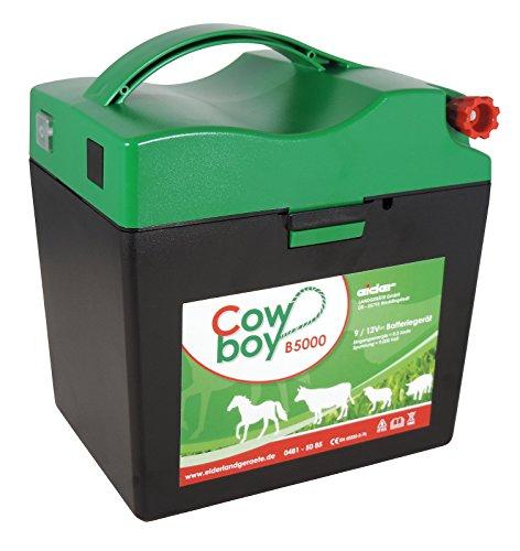 Weidezaungerät Eider Cowboy B5000 9V sofort Startbereit mit viel Zubehör + 60 Ah Batterie bereits verbaut -
