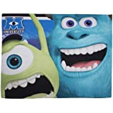 Character World Disney Monsters University Fleece Blanket, Multi-Color