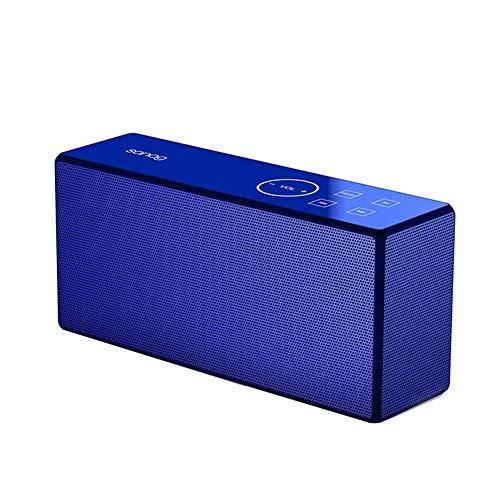 R-SOUNDBAR Multifunktions Bluetooth Lautsprecher,Lauterer Lautstärketreiber, Verstärkter Bass, Perfekter Kabelloser Lautsprecher Für Telefon, Tablet, Fernseher Und Dual-Passiv-Radiatoren,Blue (Bluetooth-modul Cinch)
