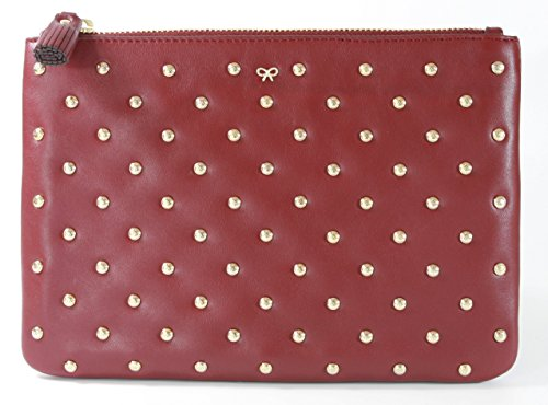 Anya Hindmarch , Damen Clutch rot rot (Anya Clutch Hindmarch)
