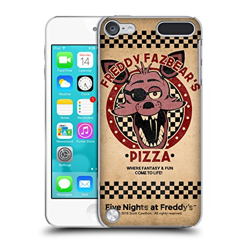 Official Five Nights At Freddy's Foxy Freddy Fazbear's Pizza Hard Back Case for Touch 5th Gen / Touch 6th Gen