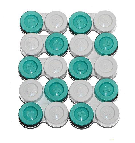 Sports Vision's Kontaktlinsenbehälter - Flach Design CE-gekennzeichnet und FDA-zugelassen 10 Stück