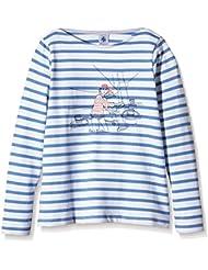 Petit Bateau Brétigny - Sweat-shirt - Col bateau - Manches longues - Fille