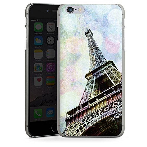 Apple iPhone 5s Housse étui coque protection Tour Eiffel Paris France CasDur anthracite clair