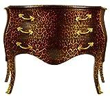 Casa Padrino Barock Kommode in Leopard