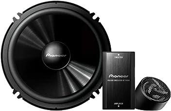 Pioneer TS-C601IN Separate 2 Way Component Speaker (Black)