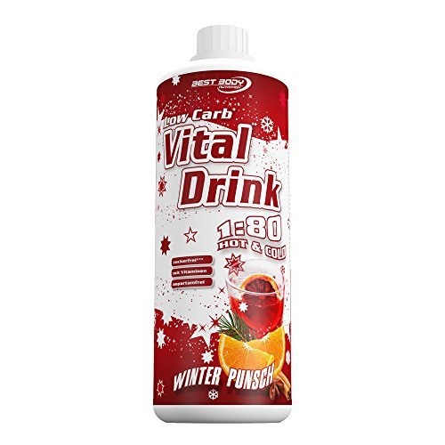 Best Body Nutrition - Low Carb Vital Drink, Winter Punsch Limited Edition