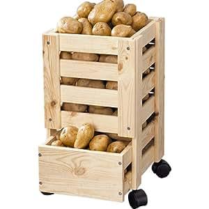 kesper caisse pommes de terre fruits 17570 cuisine maison. Black Bedroom Furniture Sets. Home Design Ideas