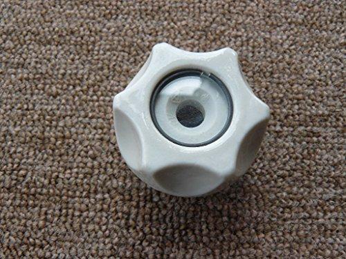 Schraubkappe für Sicherung D02, 80A, Keramik
