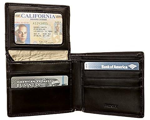 Cuir véritable Portefeuille–pour hommes, RFID, Aica, boîte cadeau par Rodovy