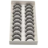 False Eyelashes, Quistal 10 pairs Fashion Eyelashes Extension For Makeup
