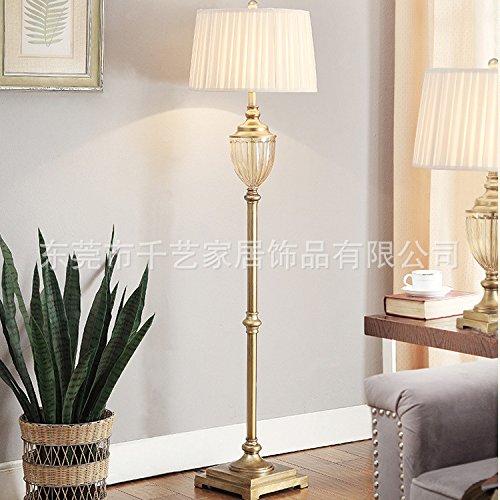 BBSLT Unione Crystal lampada da terra in metallo in bronzo del trofeo in vetro della lampada a pavimento