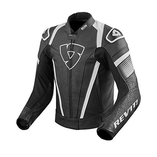 revit-motogp-racing-racing-jacket-dual-comp-protectors-spitfire-motorcycle-leather-jacket-size-46-58