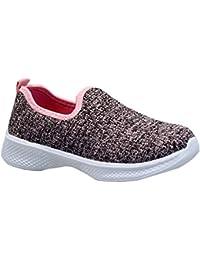 db807aa5a150 Shoe Asylum Kids Boys Girls Slip ON Walking Running Smart School Pumps  Trainers Shoes Size