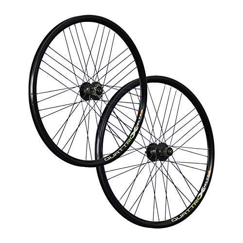 Vuelta 26 Zoll Laufradsatz Quattro X Shimano Deore HB/FH-M525 Disc schwarz